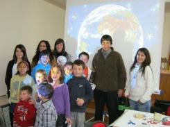 Taller de astronomía juvenil en Orea, Guadalajara